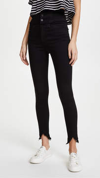 Blank High Rise Corset Skinny Jeans