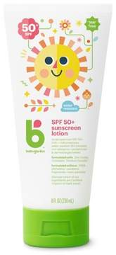 Babyganics Sunscreen Lotion Broad Spectrum Protection - SPF 50 - 8 fl oz