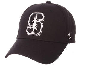 Zephyr Stanford Cardinal Black & White Competitor Cap