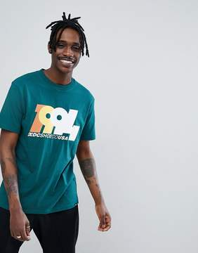 DC T-Shirt With 1994 Logo In Green