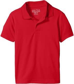 Nautica Short Sleeve Performance Polo Boy's Short Sleeve Pullover