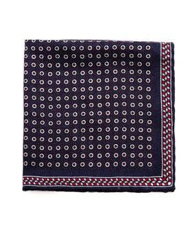 Brunello Cucinelli Geometric-print silk pocket square