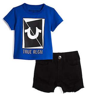 True Religion LONG SLICED BABY SET
