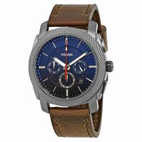 Fossil Machine Chronograph Blue Dial Men's Watch FS5388