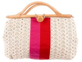 Kate Spade Knit Handle Bag - NEUTRALS - STYLE