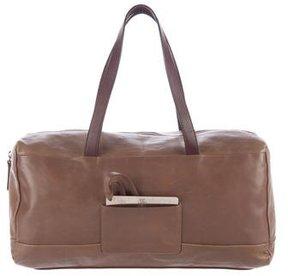 Brunello Cucinelli Smooth Leather Shoulder Bag