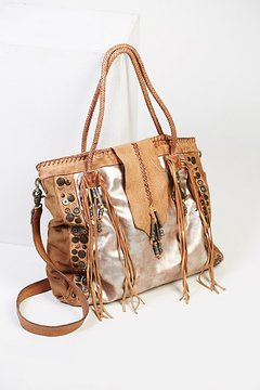 Orion Leather Tote by Free People