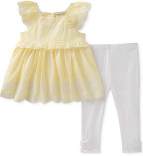 Calvin Klein 2-Pc. Tunic & Leggings Set, Baby Girls