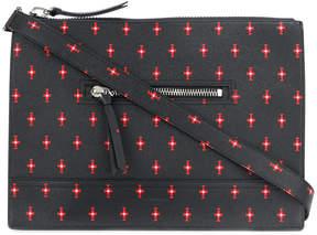 Givenchy patterned messenger bag