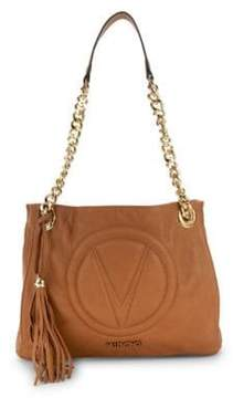Mario Valentino Luisa Leather Tote Bag