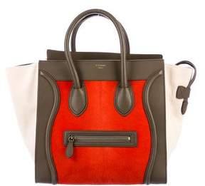Celine Ponyhair Mini Luggage