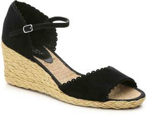 Lauren Ralph Lauren Women's Chrissie Wedge Sandal