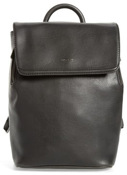 Matt & Nat Mini Fabi Faux Leather Backpack - Black