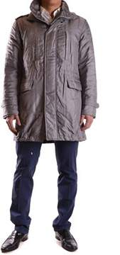 Richmond Men's Grey Cotton Outerwear Jacket.