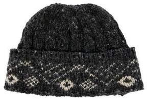 Thom Browne Wool Knit Beanie