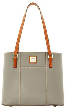 Dooney & Bourke Pebble Grain Small Lexington Shopper Bag - SMOKE - STYLE