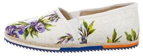 Dolce & Gabbana Girls' Floral Printed Slip-On Sneakers w/ Tags
