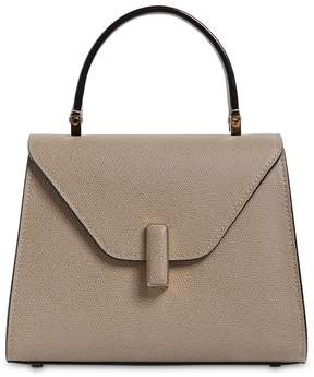 Valextra Mini Iside Grained Leather Bag