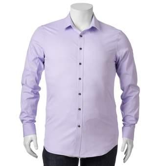 Apt. 9 Big & Tall Stretch End-On-End Button-Down Shirt