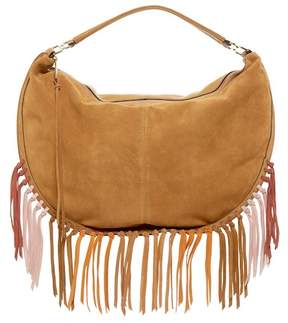 Rebecca Minkoff Rapture Large Suede Convertible Hobo - BRICK - STYLE