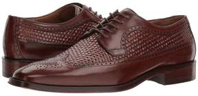 Johnston & Murphy Boydstun Woven Dress Wingtip Oxford Men's Lace Up Wing Tip Shoes