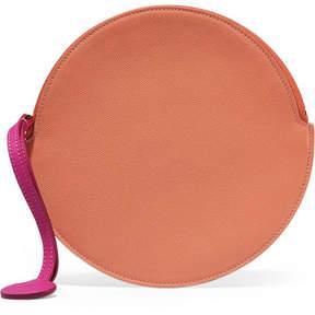 Roksanda - Textured-leather Pouch - Peach