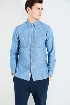 Jack Wills Pegswood Chambray Plain Shirt