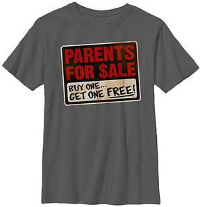 Fifth Sun Charcoal 'Parents For Sale' Tee - Boys