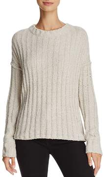 ATM Anthony Thomas Melillo Chenille Ribbed Sweater