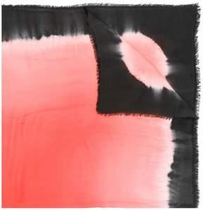 Faliero Sarti tie-dye effect scarf