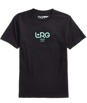 Lrg Men's Roots People Logo-Print T-Shirt