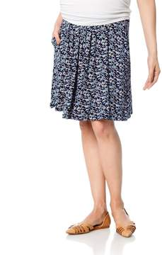 Design History Under Belly A-line Maternity Skirt