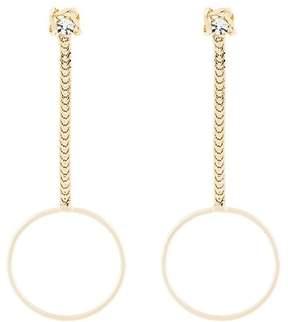 Dannijo Yandel drop chain earrings
