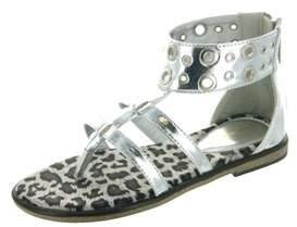 KensieGirl Silver Sandal.