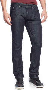 GUESS Men's Slim-Straight Fit Smokescreen-Wash Stretch Jeans