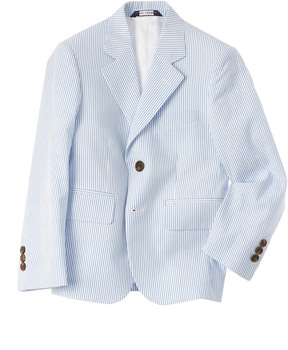 Brooks Brothers Boys' Seersucker Suit Jacket