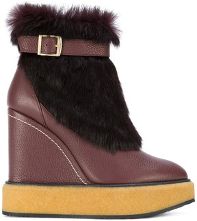 Paloma Barceló wedge snow boots