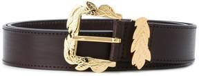 Alberta Ferretti leaf buckle belt