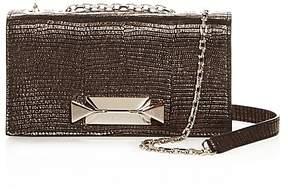 Max Mara Convertible Embossed Leather Mini Bag