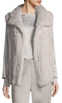 Escada Sport Fapin Rabbit Fur Vest