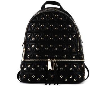 MICHAEL Michael Kors Black Rhea Backpack - BLACK - STYLE