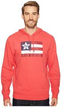 Life is Good Flag Go-To Hoodie Men's Sweatshirt