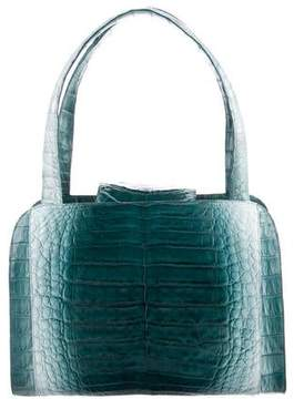 Nancy Gonzalez Ombré Crocodile Tote