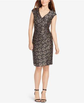 American Living Metallic Lace Dress