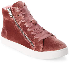 Madden-Girl Blush Eppic Velvet High Top Sneakers
