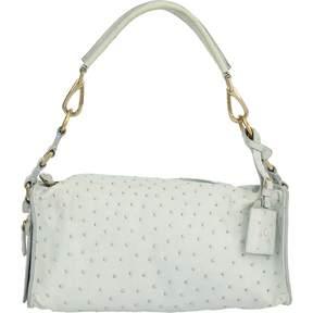 Jil Sander Blue Leather Handbag