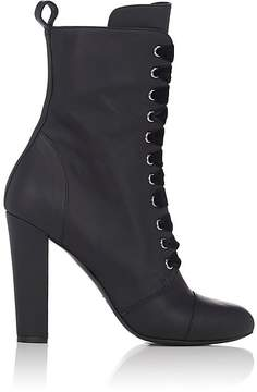 Barneys New York Women's Leather Lace-Up Ankle Boots