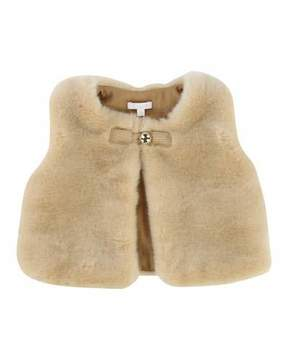 Chloé Sleeveless Faux-Fur Vest, Size 2-3