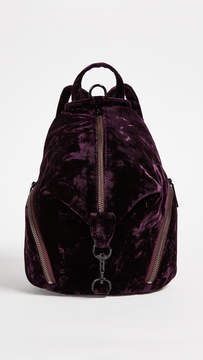 Rebecca Minkoff Medium Julian Backpack - DARK CHERRY - STYLE
