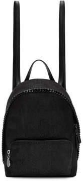 Stella McCartney Black Mini Falabella Backpack